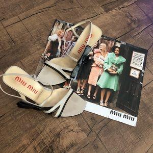 Miu Miu Strappy Heels